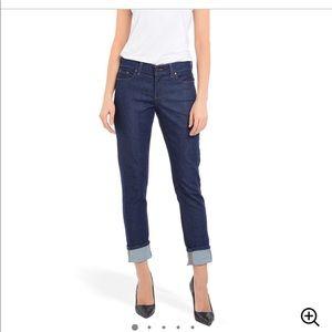 Mott & Bow Skim Boyfriend Jeans Dark Wash Size 27W 28L